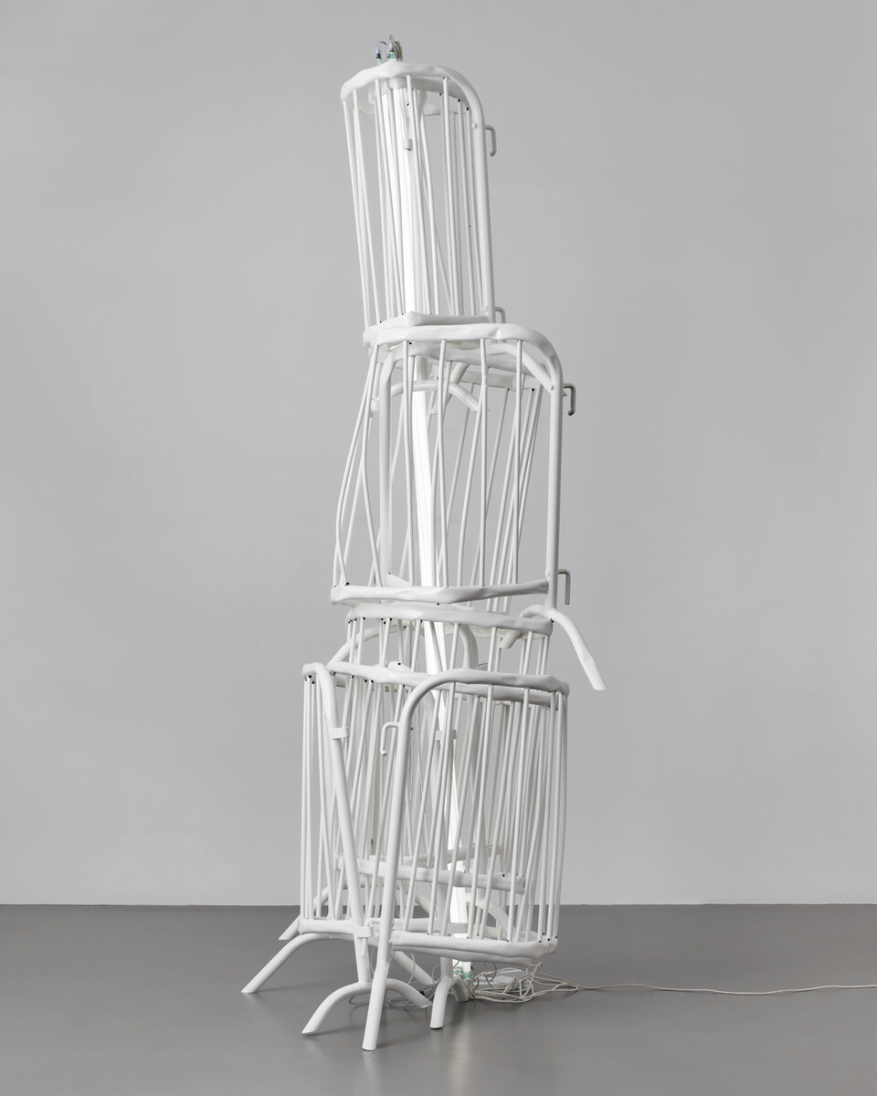 Bettina Pousttchi, Double Monuments, Double Monument for Flavin and Tatlin XIV, 2014