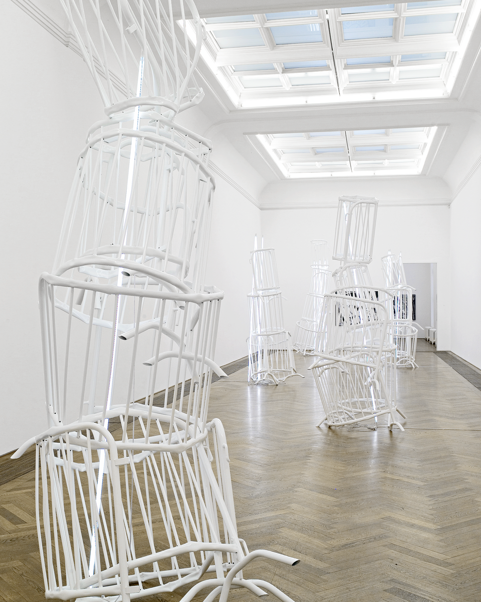 Bettina Pousttchi, Double Monuments, Double Monuments for Flavin and Tatlin, 2010