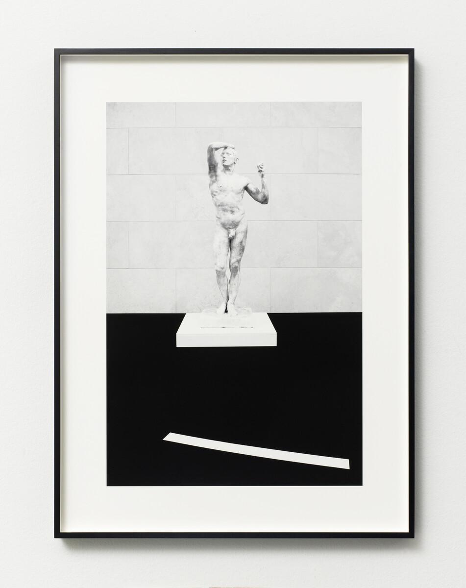 Bettina Pousttchi, Drive Thru Museum, Rodin Drive Thru, 2014