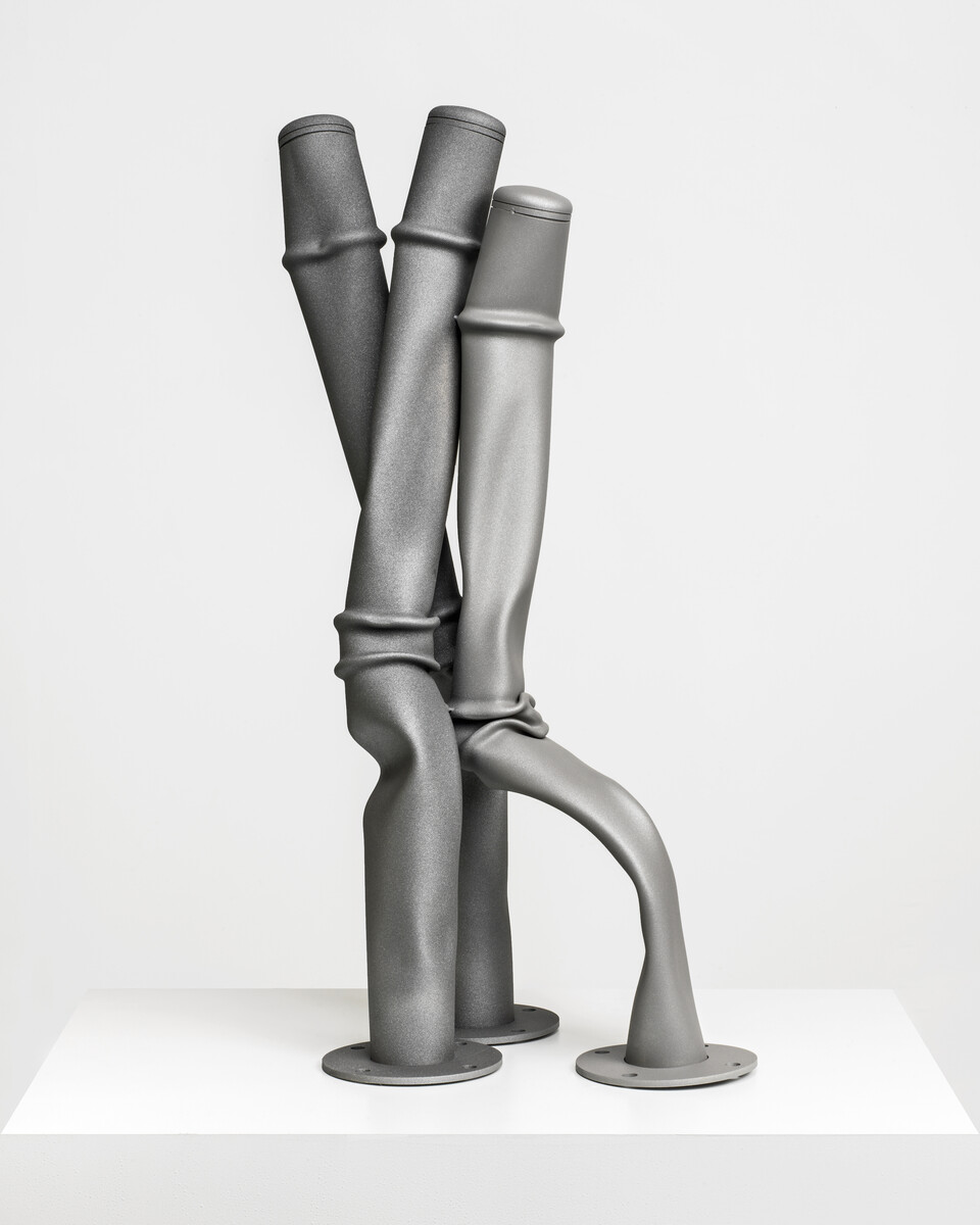 Bettina Pousttchi, Squeezer, Hugo, 2015