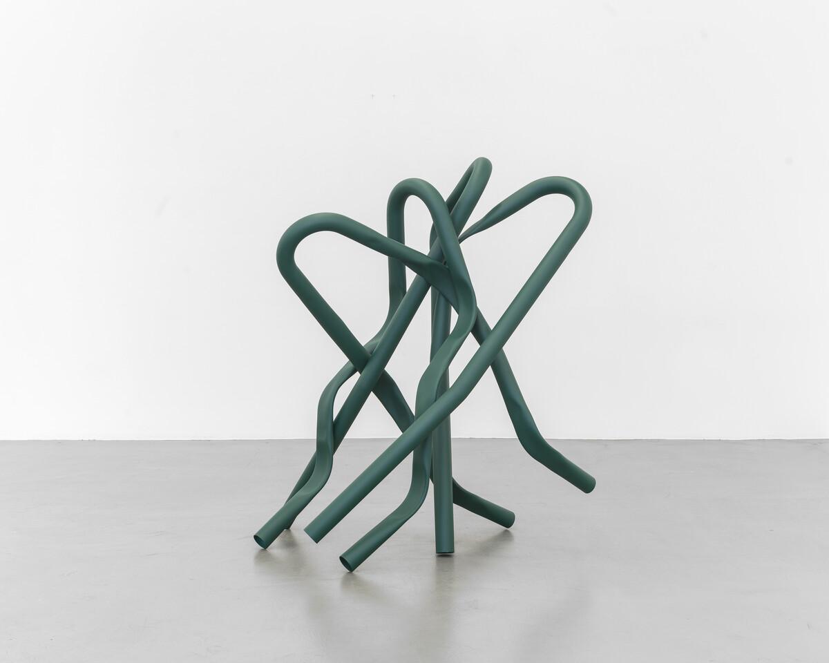 Bettina Pousttchi, Tree Squeezer, David, 2019