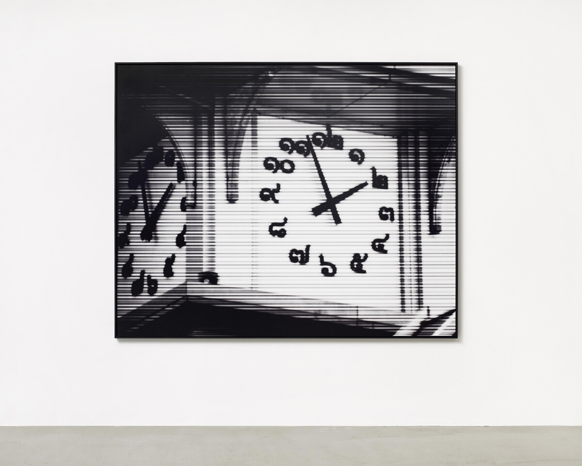 Bettina Pousttchi, World Time Clock, Bangkok Time, 2011