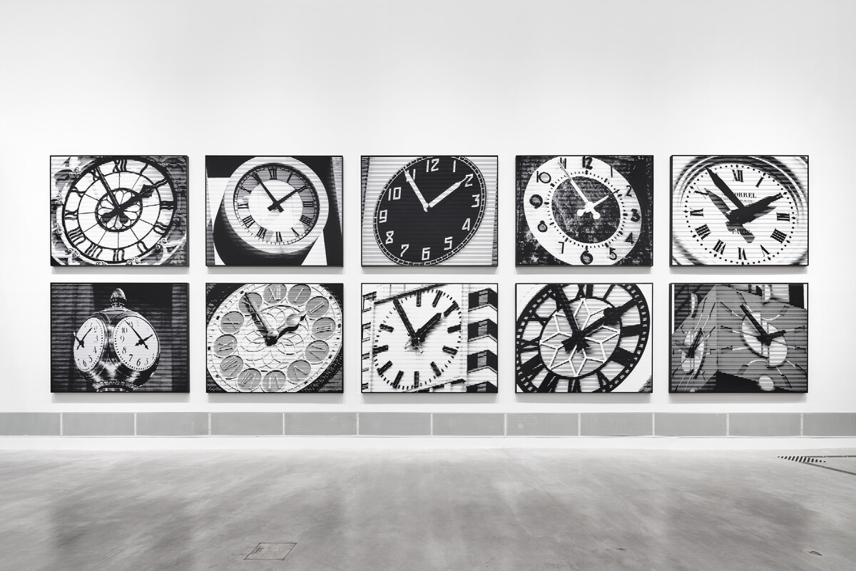 Bettina Pousttchi, World Time Clock, World Time Clock