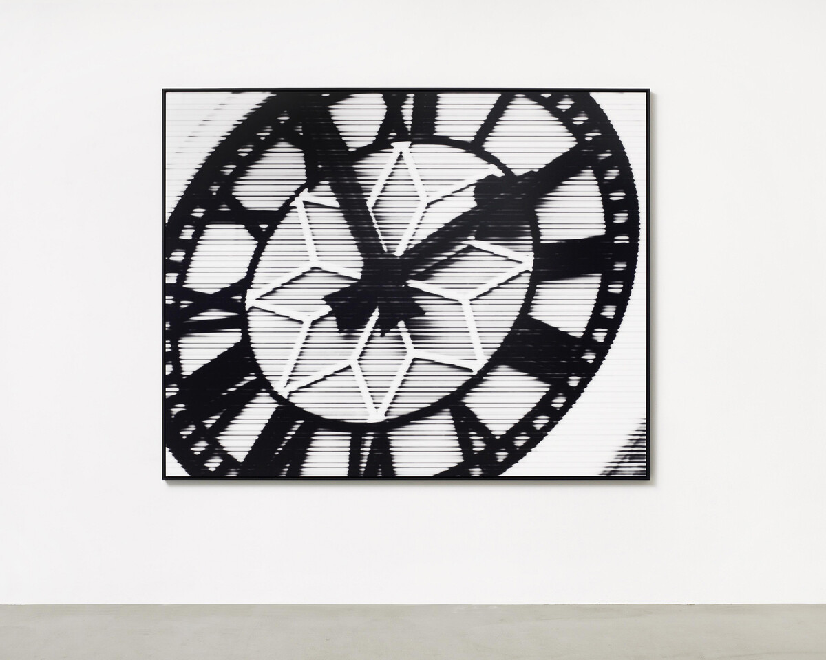 Bettina Pousttchi, World Time Clock, Hongkong Time, 2011