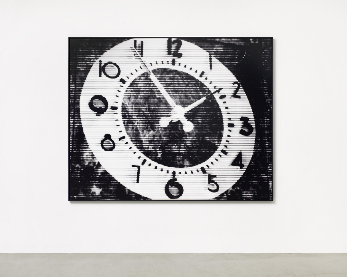 Bettina Pousttchi, World Time Clock, Los Angeles Time, 2011