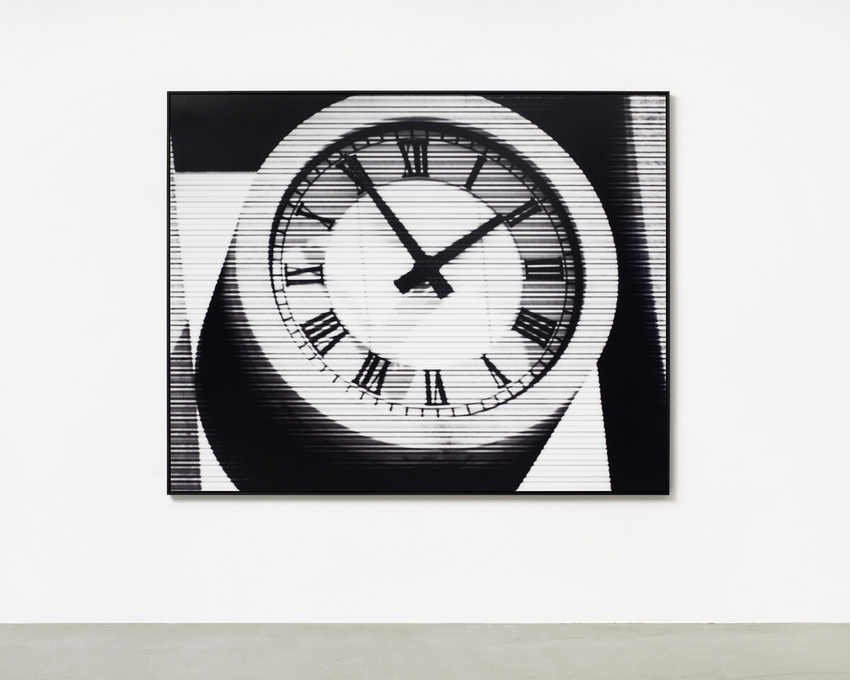 Bettina Pousttchi, World Time Clock, Mexico City Time, 2011