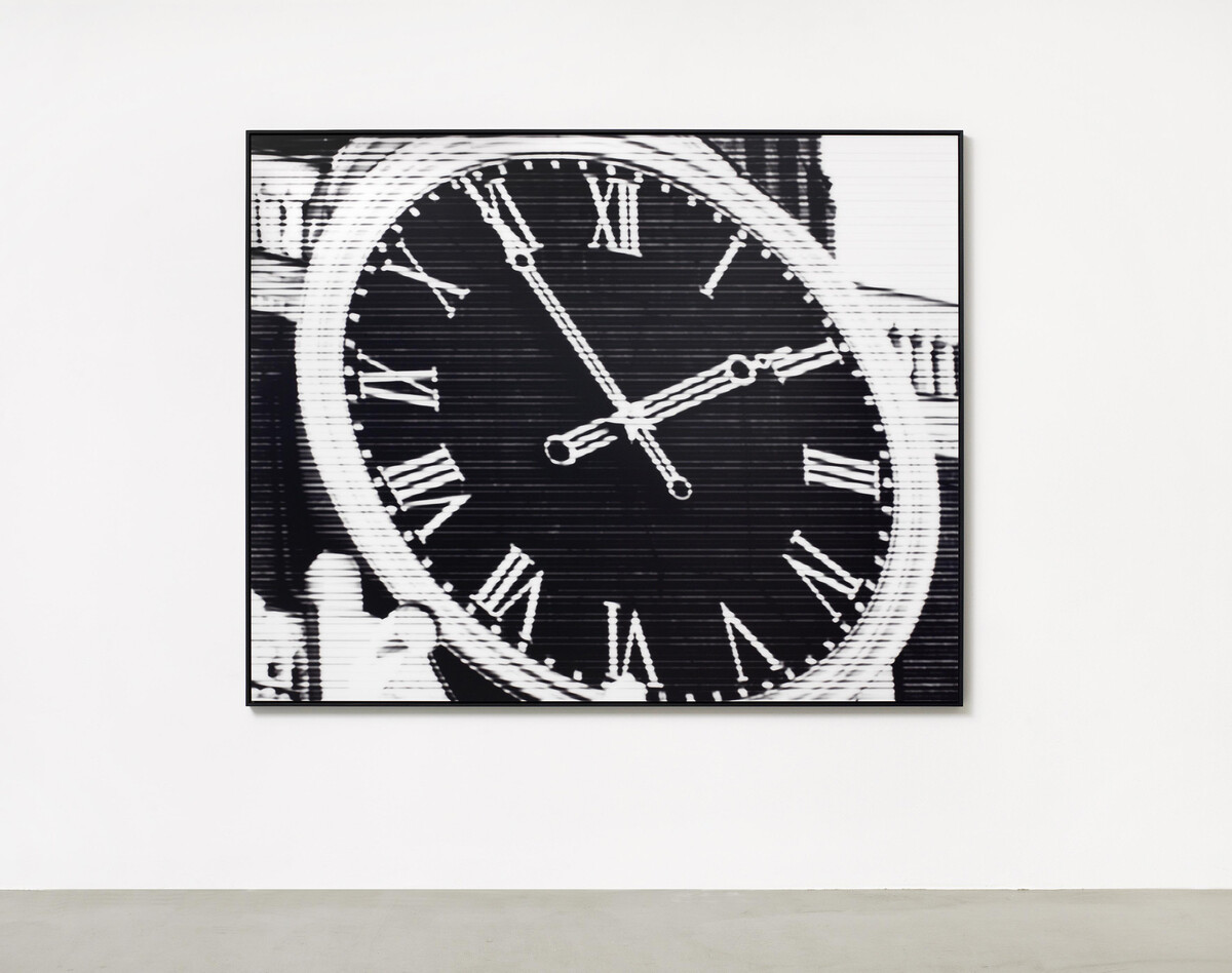 Bettina Pousttchi, World Time Clock, Moscow Time, 2012
