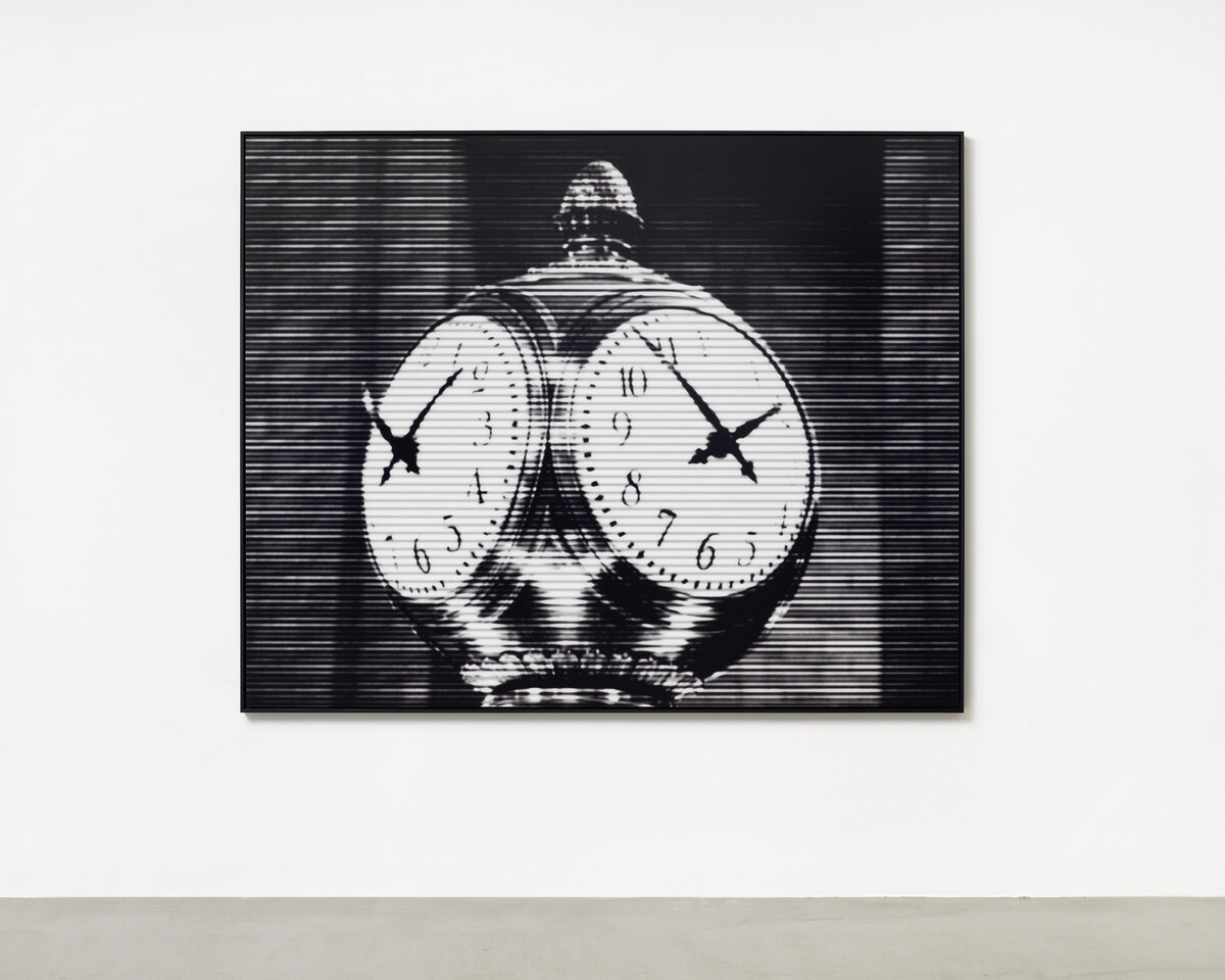 Bettina Pousttchi, World Time Clock, New York Time, 2010