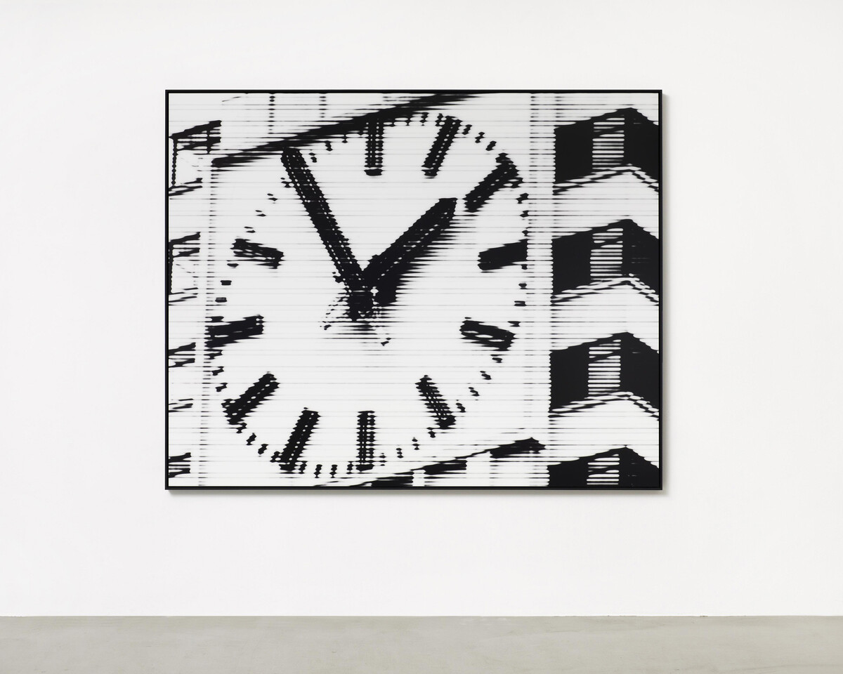 Bettina Pousttchi, World Time Clock, Rio Time, 2013