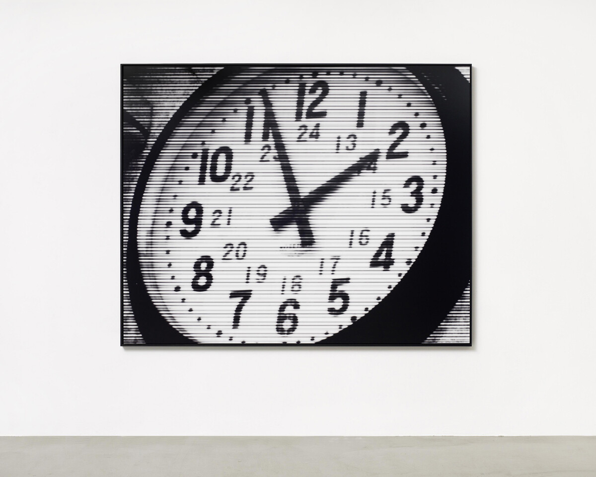 Bettina Pousttchi, World Time Clock, Seoul Time, 2011